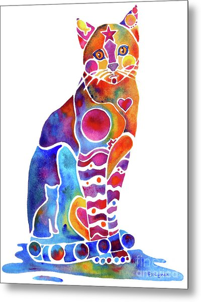 Carley Cat Metal Print