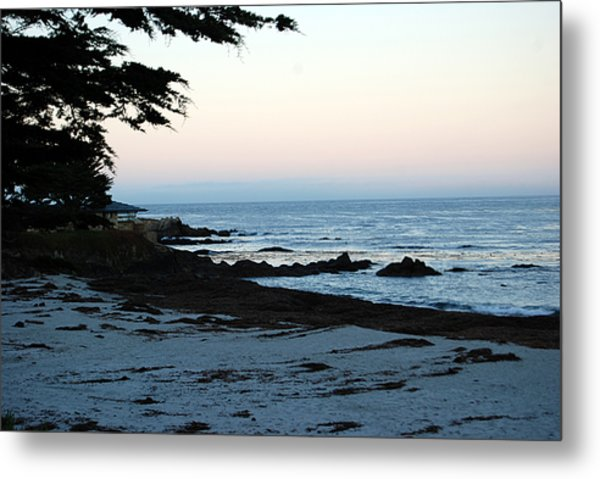 Carmel Beach Awakes Metal Print