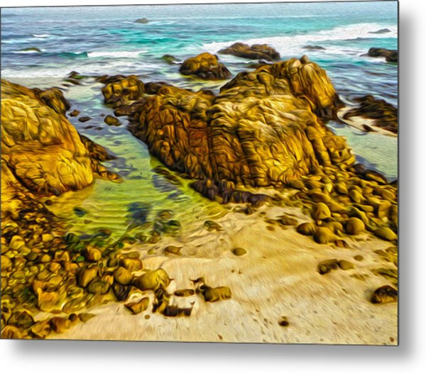 Carmel California - 07 Metal Print