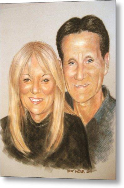 Carol And Stefan Metal Print