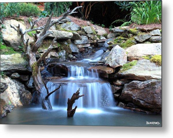 Carolina Mountain Stream Metal Print by Al Blackford