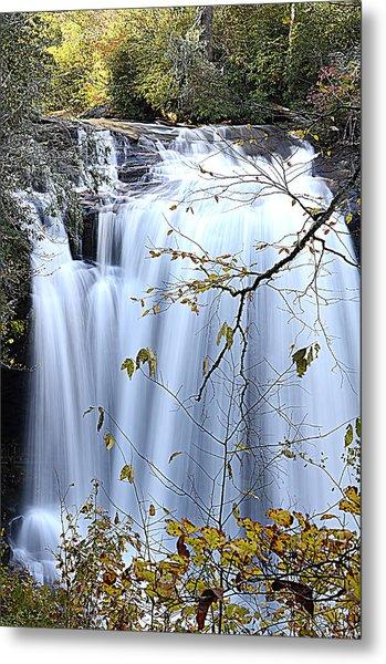 Cascading Water Fall Metal Print