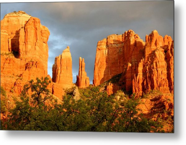 Cathedral Formation Metal Print