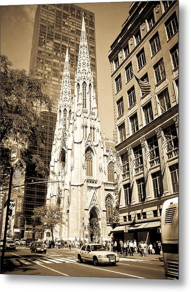 Cathedral Of Saint Patrick Metal Print