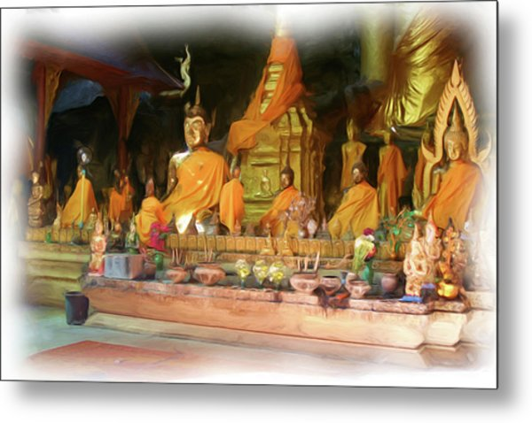 Cave Of The Bat Temple 4 Metal Print