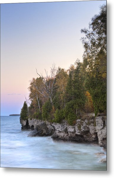 Cave Point  Metal Print by Richard Steinberger