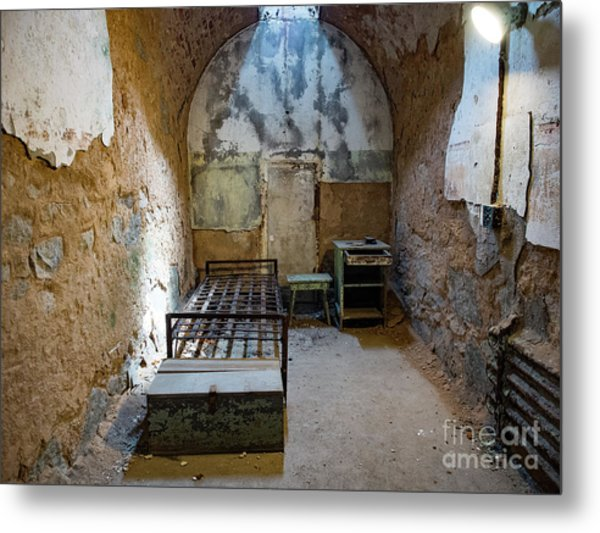 Cell At Eastern State Penitentiary Metal Print