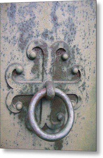 Cemetery Still-life Metal Print by Jonathan Kotinek