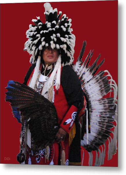 Ceremonial Dress Metal Print