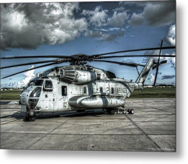 Ch-53 Super Stallion Metal Print