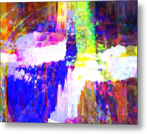 Changing Color Metal Print
