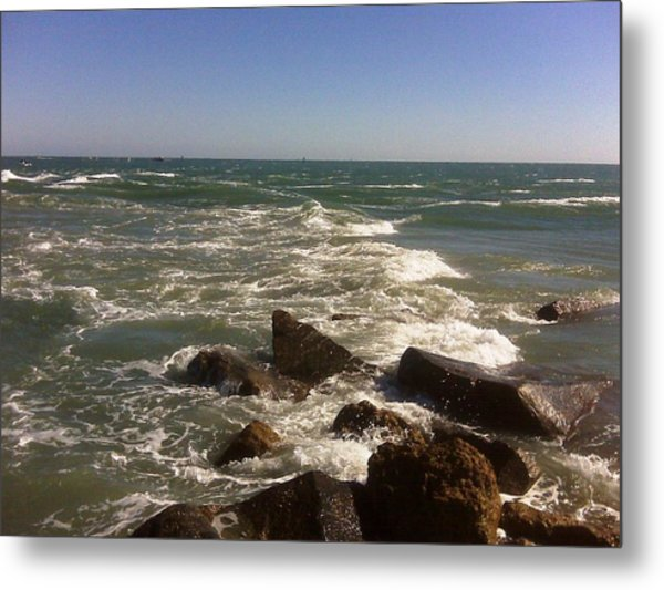changing Tide Metal Print by Francis Roberts ll