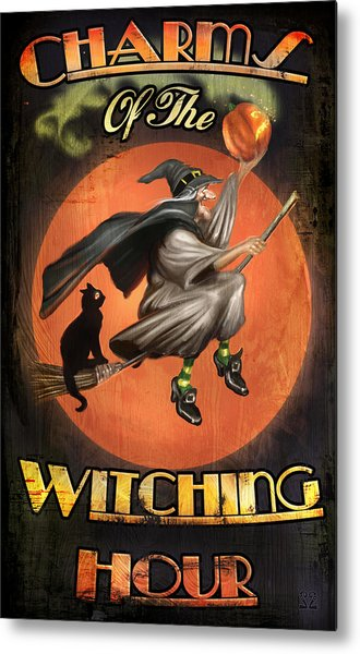 Charms Of The Witching Hour Metal Print