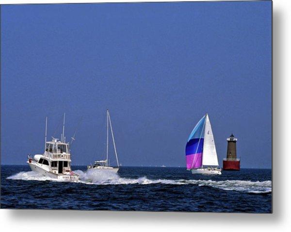 Chesapeake Bay Action Metal Print