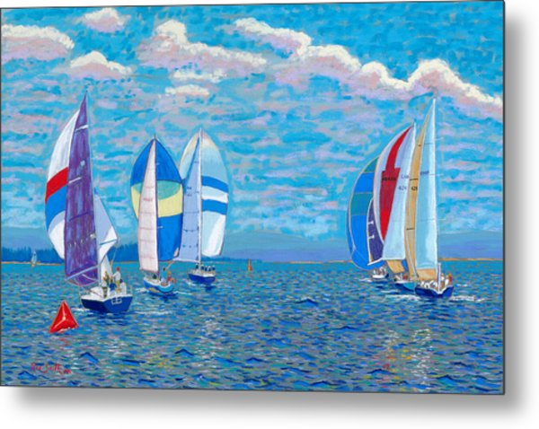 Chester Race Week 2009 Metal Print by Rae  Smith PSC