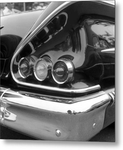 Chevy Impala Metal Print by Richard Singleton