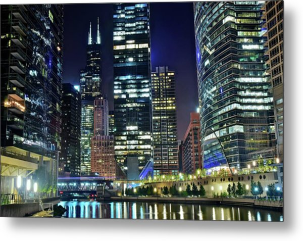 Chicago Towers 2017  Metal Print