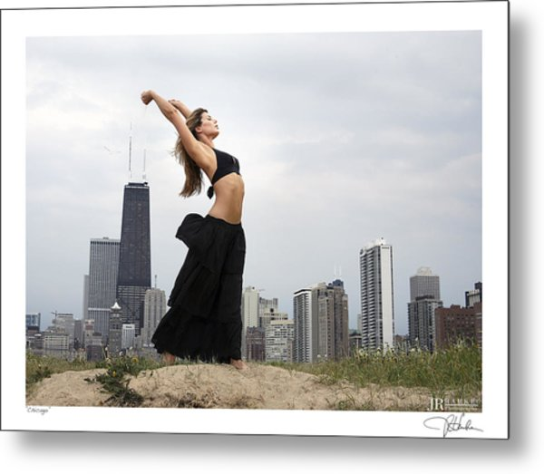 Chicago Metal Print by JR Harke Photography