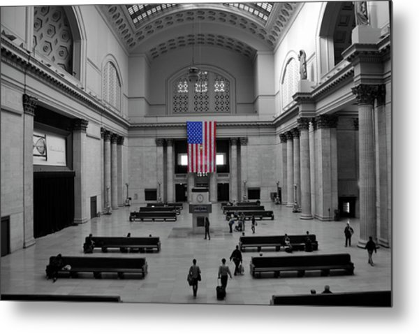 Chicago Union Station Metal Print