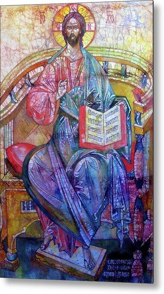 Christ In Majesty II Metal Print by Tanya Ilyakhova