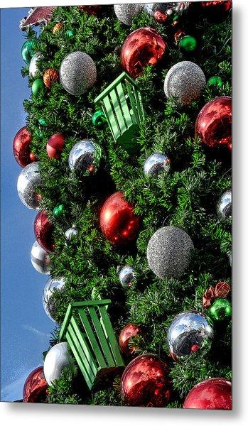 Christmas Balls Metal Print