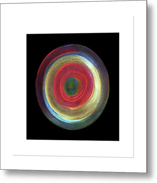 Circled Metal Print by Mimo Krouzian