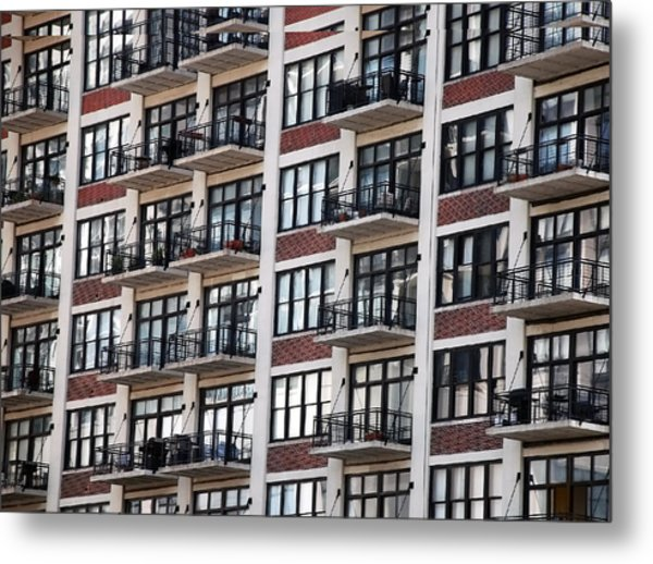 City Living Metal Print by M Ryan