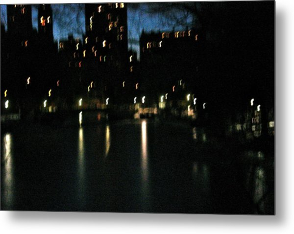 City Reflections Metal Print