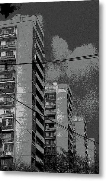 City Metal Print by Yavor Kanchev