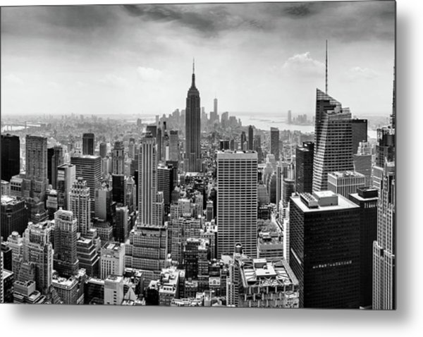 Classic New York  Metal Print