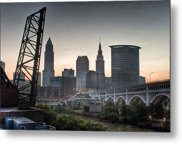 Cleveland Awakens Metal Print