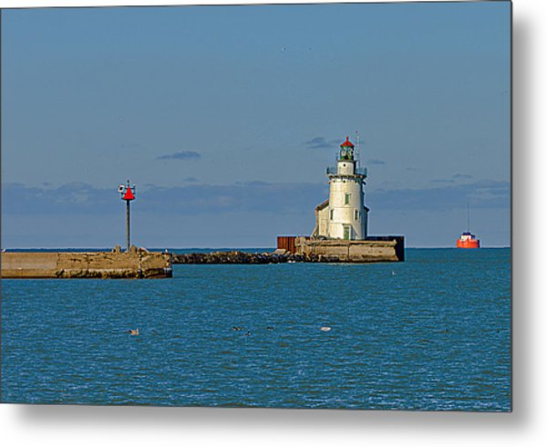 Cleveland Lighthouse Metal Print