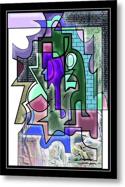 Cloistered Metal Print