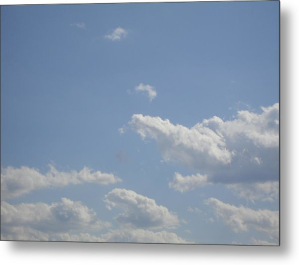 Clouds In The Sky Two Metal Print by Daniel Henning