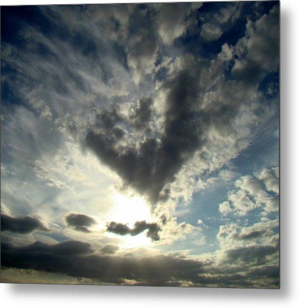 Clouds Two Metal Print by Ana Villaronga
