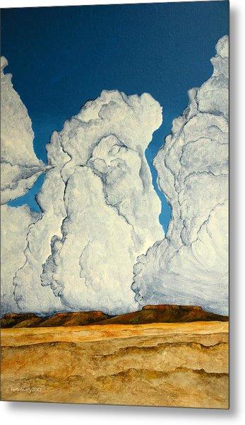 Cloudscape A Metal Print