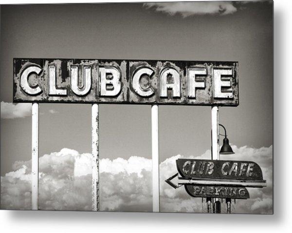 Club Cafe Metal Print