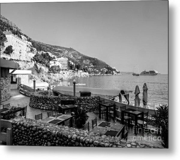 Coast Of Dubrovnik Metal Print