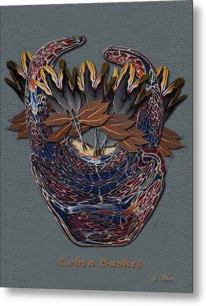 Cobra Basket Metal Print by Jerry White