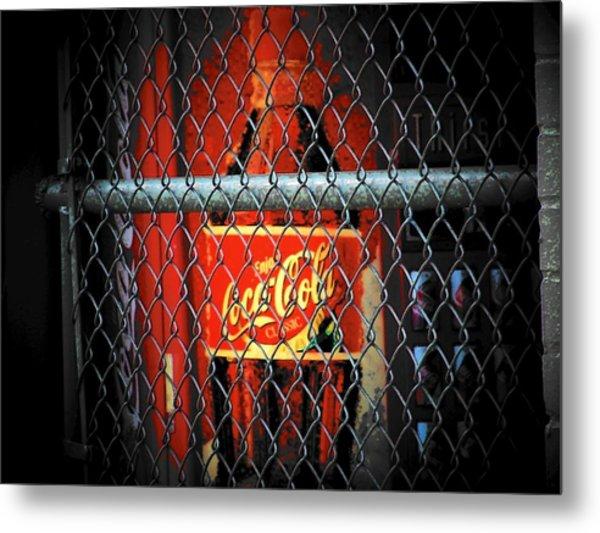 Coke Metal Print