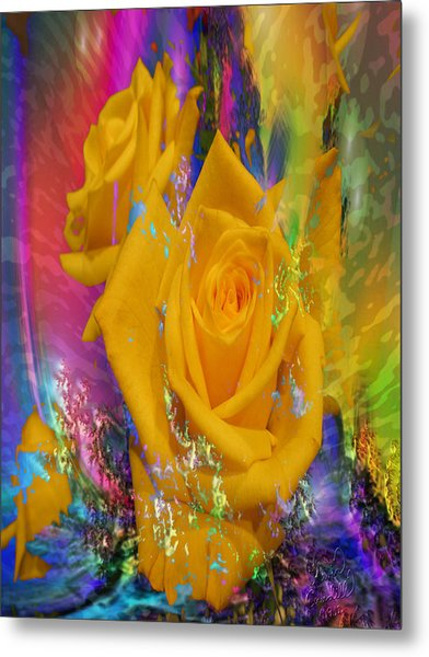Color Me With Love Metal Print