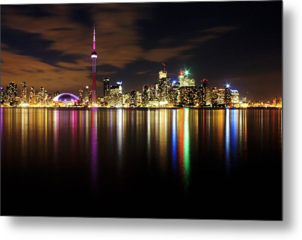 Colorful Toronto Metal Print by Matt  Trimble
