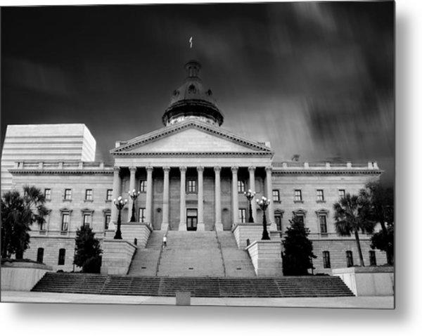 Columbia South Carolina State House Metal Print