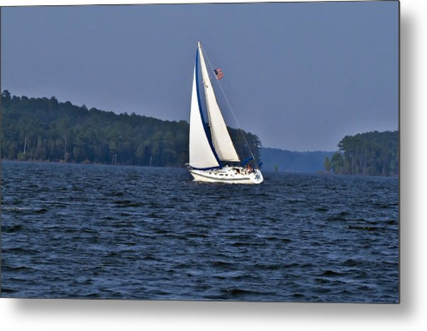 Come Sail With Me Metal Print by Michael Whitaker