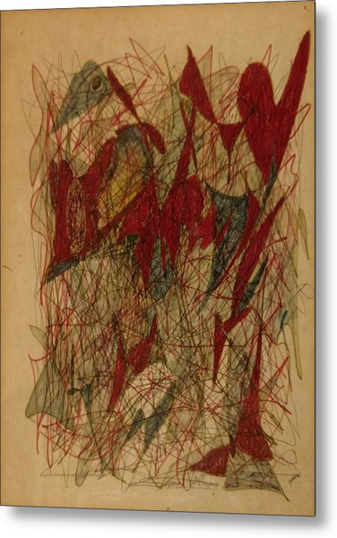 Conglomerate Synthesis  Metal Print