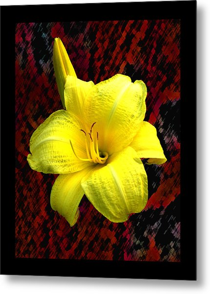 Consider The Lily Metal Print by EGiclee Digital Prints