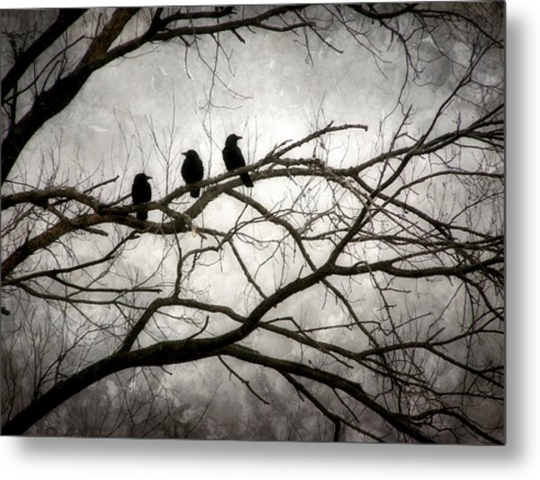 Contrive - By The Light Of The Moon Metal Print