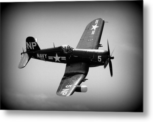 Corsair Flight Metal Print
