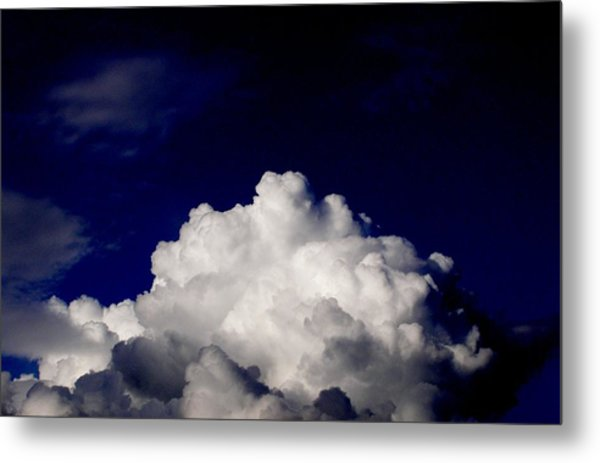 Cotton Sky Metal Print by Kathy Daxon