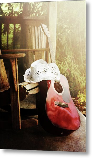 Country Music Metal Print